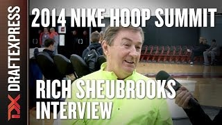 Rich Sheubrooks - 2014 Nike Hoop Summit - Interview