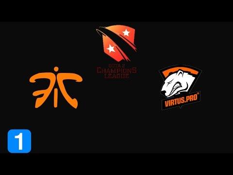 Dota 2 Highlights Fnatic vs Virtus.Pro - Dota 2 Champion's League Season 4