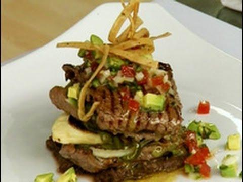 Platillos Caseros - Carne a la tampiqueña con guacamole