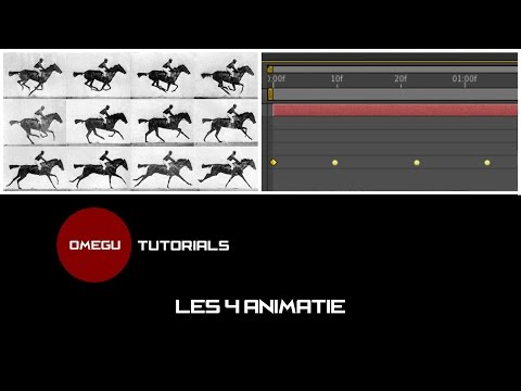 Tutorial Adobe After Effects CC - Les #3 - Animatie (Nederlands)