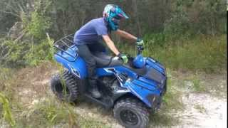 6. 2014 Kawasaki Brute Force 300 ATV Climbs
