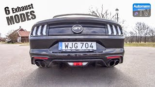 3. 2019 Ford Mustang GT (450hp) - pure SOUND (60FPS)