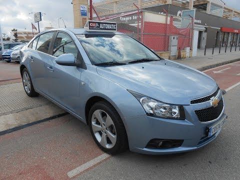 See video Chevrolet CRUZE 1.8i LT AUTO
