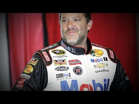 Tony - NASCAR legend Tony Stewart is back on the track as investigation into fatal incident is still under way.