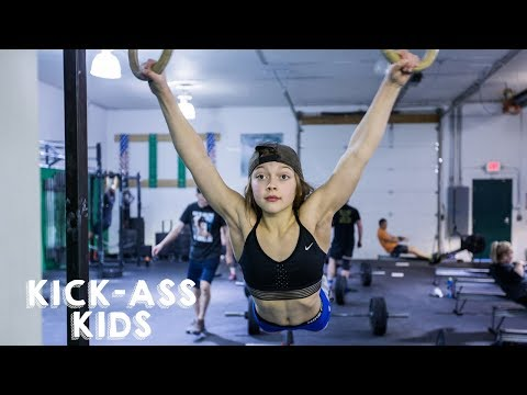 Video The 10-Year-Old CrossFitter Aiming For The Olympics | KICK-ASS KIDS download in MP3, 3GP, MP4, WEBM, AVI, FLV January 2017