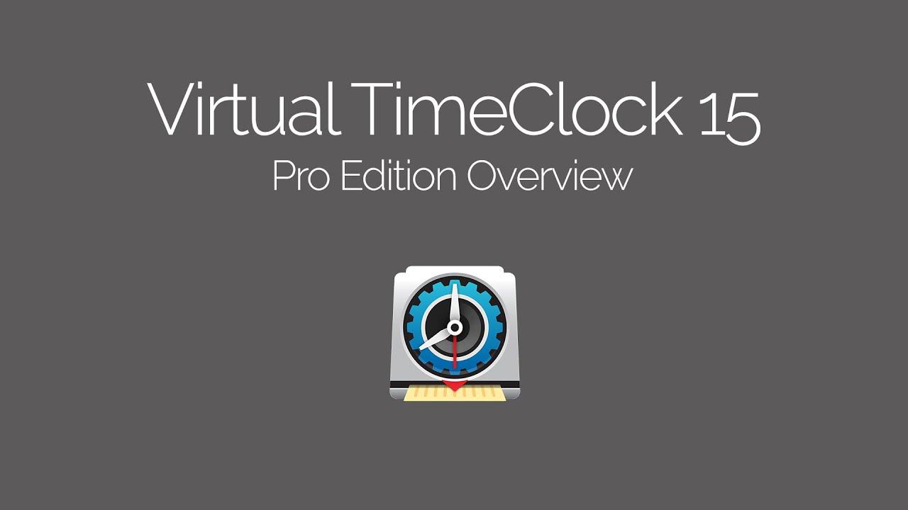 Virtual TimeClock Pro Edition