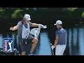 Zach Johnson gets Eagle...