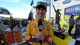 Joey Logano - Talladega | NASCAR VICTORY LANE by FOX Sports
