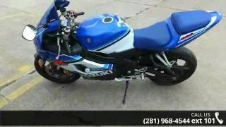 9. 2005 Suzuki GSX-R600 20th Anniversary Edition Sportbike -...