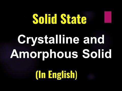 GPC 20 2 Solid State kristallinen und amorphen Solide Problem