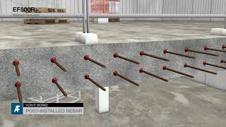 How It Works: EF500R+ Post-installed rebar connection for Heavy Loads
