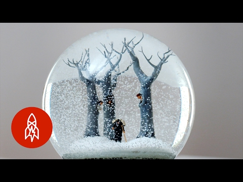 Artist Couple Create Surreal Worlds Inside Snow