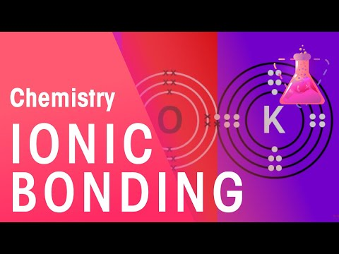 Ionic Bonding of Lithium Fluoride & Potassium Oxide | Chemistry for All | FuseSchool