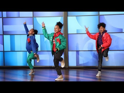 Ellen Welcomes Amazing Dutch Dancer Siblings