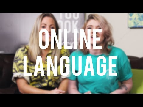 LANGUAGE: What weight do our words carry online?