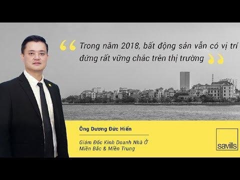 Tình hình thị trường bất động sản 2018 – Nhận định bởi ông Dương Đức Hiển – Savills Việt Nam – VTV1