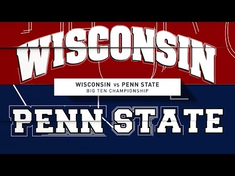 Big Ten Championship Hype Video: Penn State vs. Wisconsin