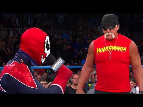 TNA - After Suicide won back the X Division title it was discovered that the man in the Suicide gear was not actually Suicide. Hulk Hogan was able to get to the bo...