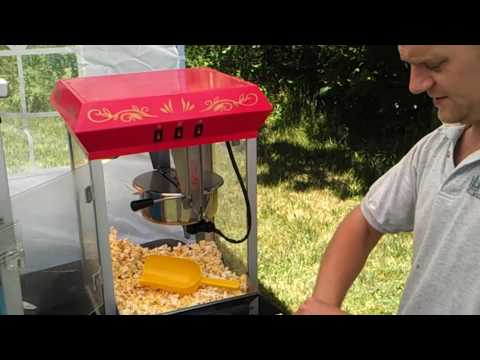 How to use our 8oz Popcorn Machine - MA Moonwalk & Party Rentals