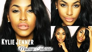Kylie Jenner Inspired Makeup Tutorial - YouTube