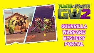 """So the mystery portal is back and now is the time for Guerrilla Warfare lets see how I got on in this new event in Plants Vs Zombies Garden Warfare 2.Subscribe here for more Gaming Videos: http://goo.gl/JnMm2v.Don't forgot to click that notifications bell so you know when my next video is live  I Stream so come join The Barking Mad Society: https://mixer.com/krlbarkerhttps://twitch.tv/krlbarker Fancy spying on what I'm doing lately join my Twitter: https://twitter.com/KrlBarkerWant to stalk me on Xbox One well here's my GT: KrlBarkerJoin my Club on Xbox One and have a Chat: Search KrlBarkerIntro Creator: Dopemotionshttps://www.youtube.com/channel/UCgvrz9ioKv89HMyg42z4pyQEdited By: KrlBarkerFor more templates, visit www.velosofy.com! Plants vs. Zombies: Garden Warfare 2 is a third-person shooter, similar to Garden Warfare. Gameplay largely remained the same as its predecessor, with the addition of 8 (6 immediately accessible and 2 which must be unlocked through a series of tough trials) new plant and zombie classes, a zombie version of Garden Ops, titled Graveyard Ops, and a new mode called Herbal Assault, a swapped version of Gardens and Graveyards where the Zombies must defend the bases and preventing the Plants from capturing it, which supports up to 24 players. Different classes have different abilities. Most characters and modes (Team Vanquish, Garden Ops, etc.) from the original Garden Warfare will be returning. A new """"remix"""" music from the original Garden Warfare for the Zombies. New abilities for returning characters will also be introduced in Garden Warfare 2."""