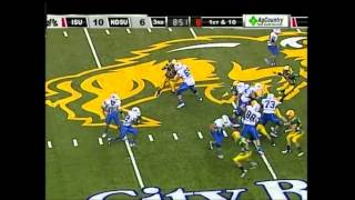 Shakir Bell vs North Dakota State (2012)
