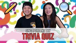 Video Singaporeans Try: Trivia Quiz | EP 118 MP3, 3GP, MP4, WEBM, AVI, FLV Agustus 2018