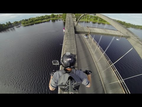 Bridge - Watch this professional stuntman, part of the Stunt Freaks Team, take it to a whole new level as he crosses a bridge in an epic way. For more of the Stunt Fr...