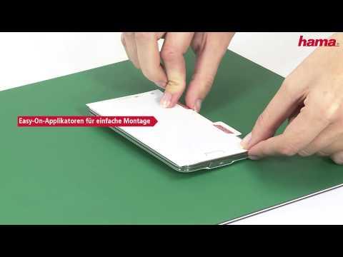 Hama Easy-On Displayschutzfolie (видео)