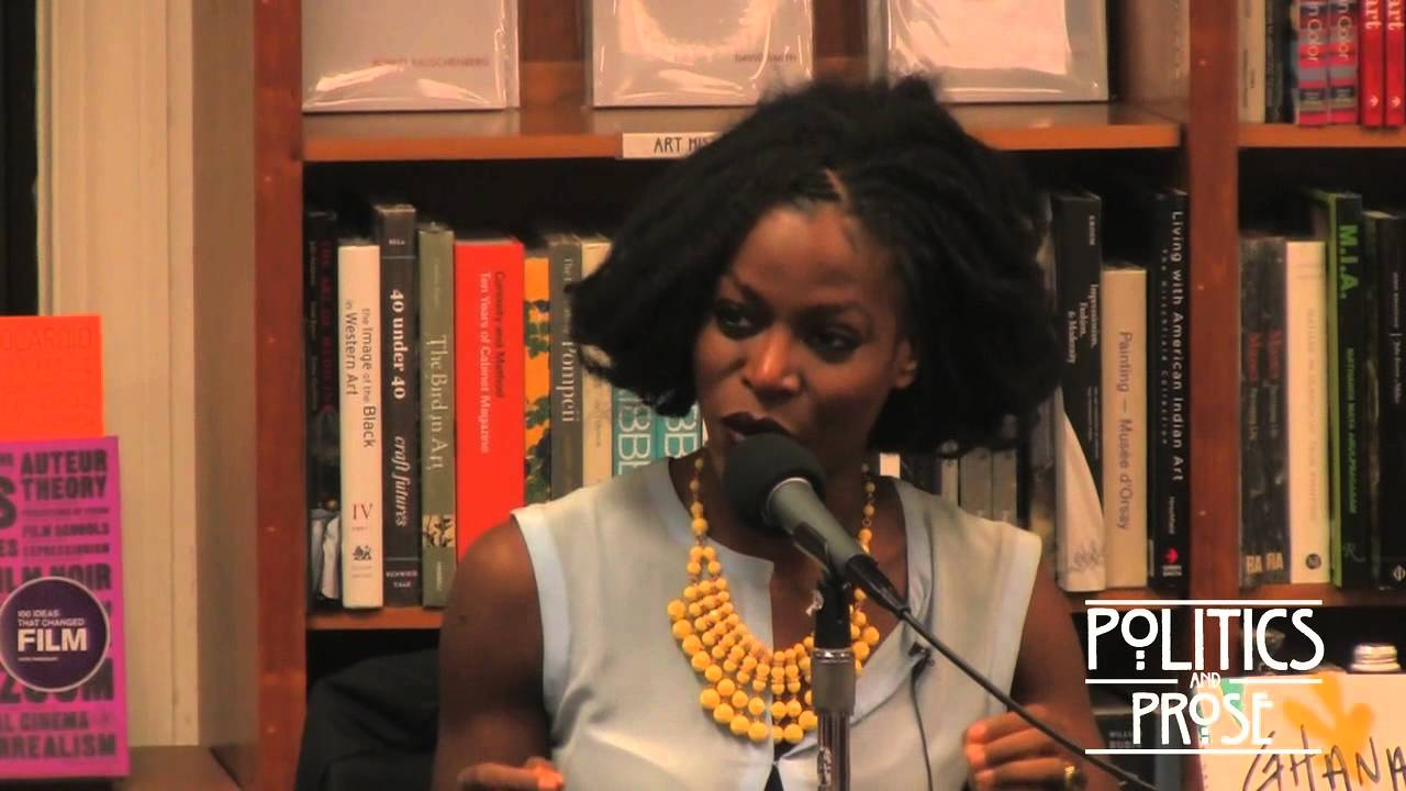 Taiye Selasi speaks about 'Ghana Must Go' at Politics and Prose in Washington, DC