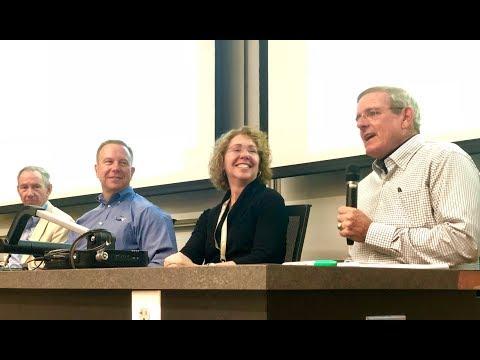 Three Georgia Tech Astronauts Visit Georgia Tech