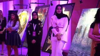 "<h5>Her Highness Sheikha Jawaher Al Qasimi awards seven outstanding winners at ""Noon Arts Awards"" </h5>"