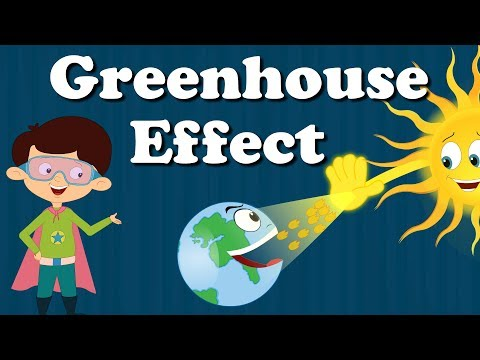 Greenhouse Effect For Kids | #aumsum