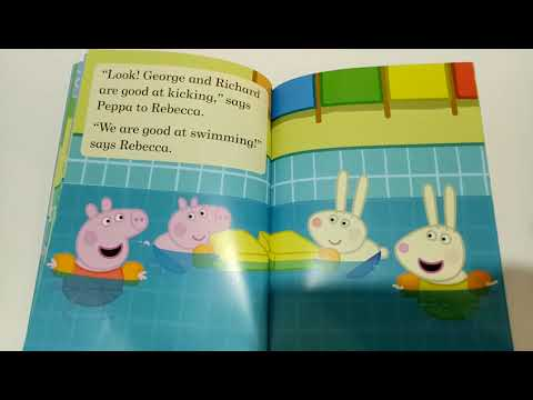 Download Peppa Pig Goes Swimming Read A Long Book Video 3gp Mp4 Flv