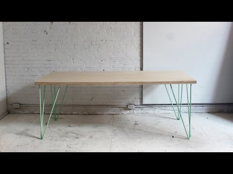 dining - In this episode Ben show how easy it is to make a nice sturdy table out of a single sheet of plywood. This project is so easy and simple we weren't sure if it was worth posting. It came...