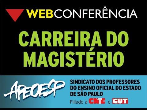 WebConferencia - Carreira do Magistério - 1