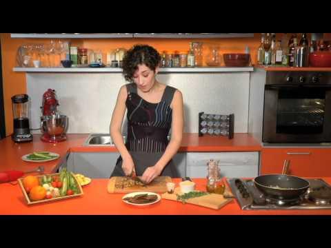 ricetta vegana - zucchine ripiene di seitan