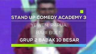 Video Stand Up Comedy Academy 3 : Yewen, Papua - Babi Bule MP3, 3GP, MP4, WEBM, AVI, FLV Oktober 2017