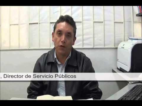 Soacha Cápsula Dirección de Servicios Públicos