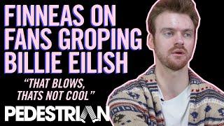 Billie Eilish's Bro Finneas Reacts To Fan Allegedly Grabbing Her Boobs