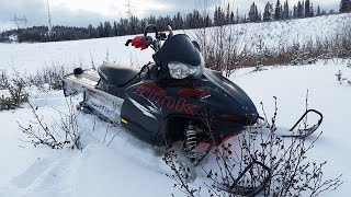 7. New Sled ! 2009 RMK 700 155 !