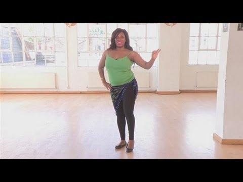 Основа Танца живота: движения бедром. Обучение видео.