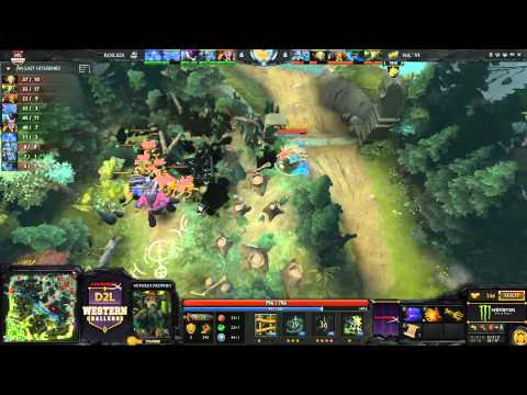 western - You're watching Game 1 between RoX.KIS and Na'Vi from the D2L Western Challenge (www.D2L.gg) You can watch the entire match between RoX.KIS and Na'Vi via VOD...