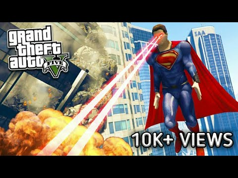 HOW TO INSTALL SUPERMAN SCRIPT MOD(FREE!)V2+PED(FULL INSTALLATION)+GAMEPLAY  L GTA V MODS