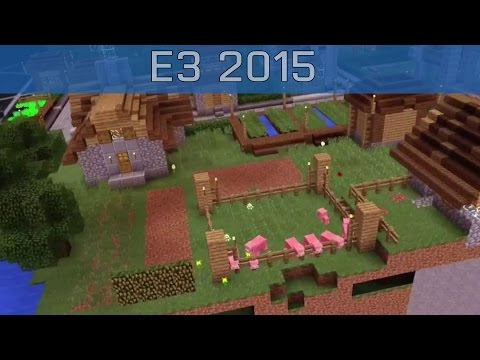 Microsoft HoloLens – E3 2015 Minecraft Gameplay [HD]