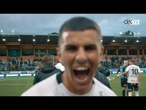 ÖSK-TV: Firandet efter kvällens vinst