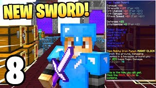 My New GOD SWORD is Ready!   Hypixel Skyblock #8