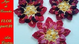 FLOR DE CROCHÊ/ flower  crochet/ flor croche– ARTS CRISTINAASSITA  A PARTE 02ASSISTA O JOGO DE COZINHA INTEIROhttps://www.youtube.com/watch?v=IGBoAUpRWHg&list=PLbGhzWktAhGantiYynlD1wJSmEVGDC-O3NAO SE ESQUEÇA DE SE ESCREVER NO CANAL PARA RECEBER TODAS AS NOVIDADES ..... sera postadas todo do mundo do crocre......flor de croche, folhas barrocas, tapetes avulso, jogo de banheiro em croche, toalha entre outrooosGRUPO ARTSCRISTINAhttps://www.facebook.com/groups/1057334024286301/CURTA NOSSA FANPAGE https://www.facebook.com/artesanatocomcristina?ref=aymt_homepage_panelACESSE NOSSO BLOGhttp://artscristina2.blogspot.com.br/