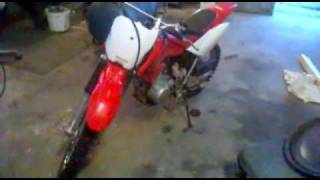6. Honda CRF 80F 2005 for sale
