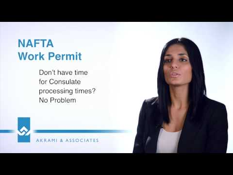 NAFTA Work Permit Canada Video